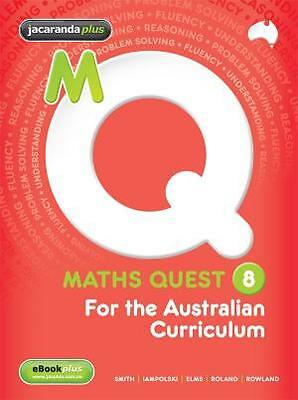Maths Quest Year 8 for the Australian Curriculum