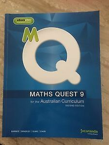 Maths Quest Year 9 for the Australian Curriculum (Second Edition)