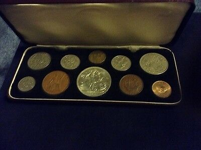 BRITISH COINS: Cased King George VI 1951 Festival of Britain Proof Coin Set (10)