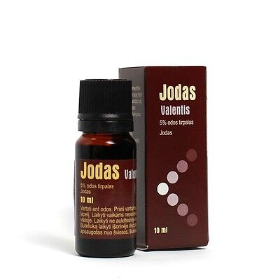 Iodine Solution 5% Antiseptic Antibacterial Cutaneous Medical Tincture of Iodine