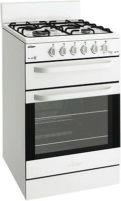 NEW Chef 54cm Natural Gas Upright Cooker Stove 80 Litres CFG504WANG