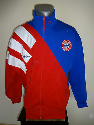 vintage 1992-1994 BAYERN MUNICH MÜNCHEN track top suit Adidas size 36/38 SMALL