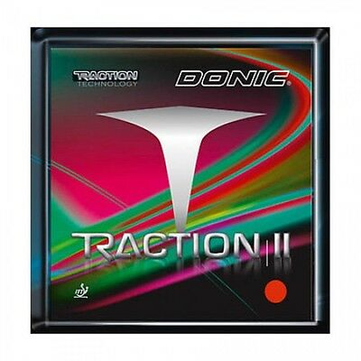 Donic Traction Table Tennis Rubber (Red)
