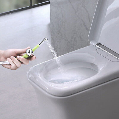 1x Portable Hand Held Toilet Seat Bidet Bathroom Bidet Shower Head Spray Sprayer