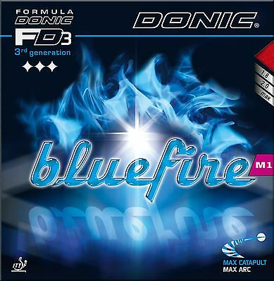Donic Blue Fire M1 Table Tennis Rubber (Red)
