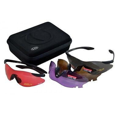 TOP GUN X Pro CLAY PIGEON SHOOTING SAFETY GLASSES
