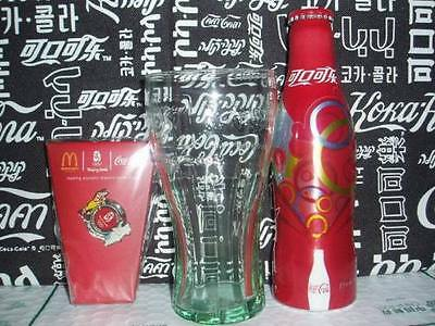 Coca coke Cola Olympic McDonald's Alu Bottle Set from CHINA