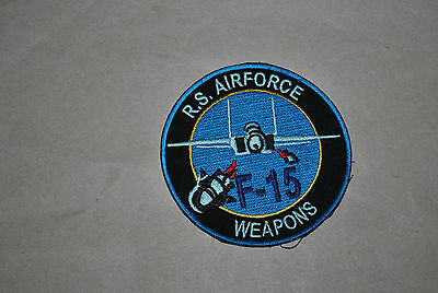 Rsaf Airforce F-15 Weapon Patch
