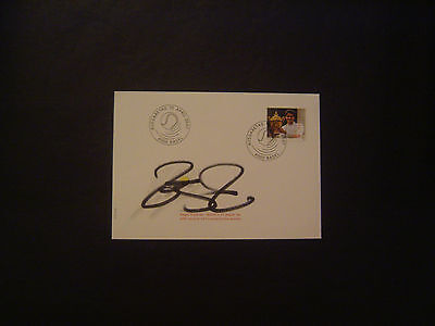 Tennis FDC Envelope with Swiss stamp Signed by ROGER FEDERER