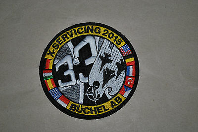 Airforce Exercise ''x Servicing 2015 '' F-16 ,f-15 Patch