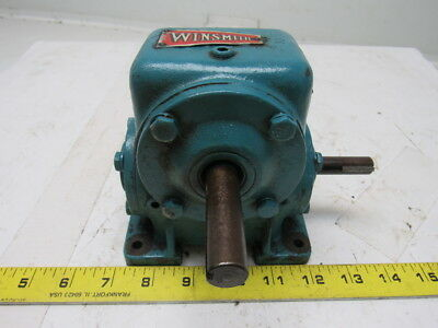 Winsmith 1CB Worm Gear Speed Reducer 30:1