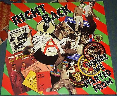 Northern Soul Compilation LP - Right Back Where We Started From - M-