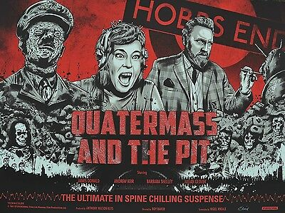 """Quatermass and the Pit 1967 16"""" x 12"""" Reproduction Movie Poster Photograph NO 2"""