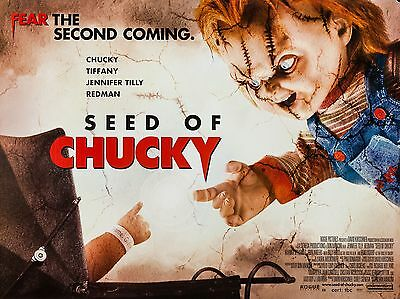 """Seed of Chucky 16"""" x 12"""" Reproduction Movie Poster Photograph"""