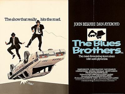 """The Blues Brothers 1980 16"""" x 12"""" Reproduction Movie Poster Photograph 2"""