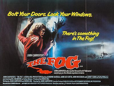 """The Fog 16"""" x 12"""" Reproduction Movie Poster Photograph"""