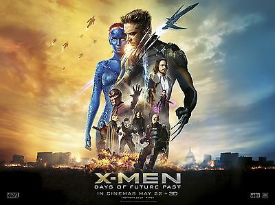 "X Men days of future past 16"" x 12"" Reproduction Movie Poster Photograph"