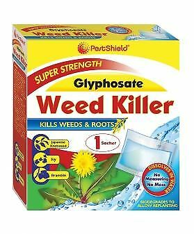1x 3x 6x Extra Strong Weed Killer Concentrate Glyphosate Pesticide Gardening