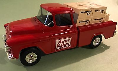 Ertl 1955 Chevy Cameo Bank Wix Filters Sullys Hobbies