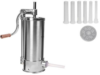 SAUSAGE STUFFER FILLER MAKER SET  2 X SILICON PISTON 4KG hand operated