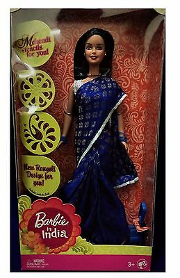 Barbie in India Barbie in Sari Indian Barbie Gift Pack Indian Barbie Collectable