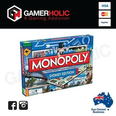 Monopoly Sydney Board Game Limited Edition Brand New