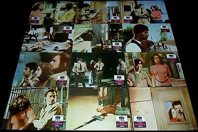 1976 Assault on Precinct 13 ORIGINAL SPAIN LOBBY CARD SET John Carpenter
