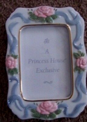 PRINCESS HOUSE PORCELAIN PICTURE FRAME  # 279 new in box