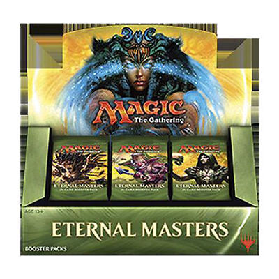 MAGIC BOOSTER BOX ETERNAL MASTERS SEALED - 24 Boosters English