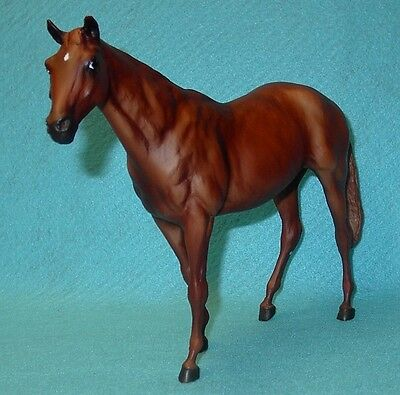 """Breyer Traditional Gorgeous Chestnut """"sonador"""" Touch Of Class #1240 Guc 05-07"""