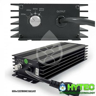 LUMII BLACK 600W Watt Digital Dimmable   Ballast Grow Light Hydroponic THE BEST!