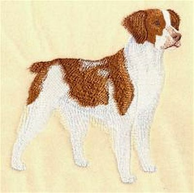 """Brittany Dog  Embroidered Patch """"6.x5.8"""""""