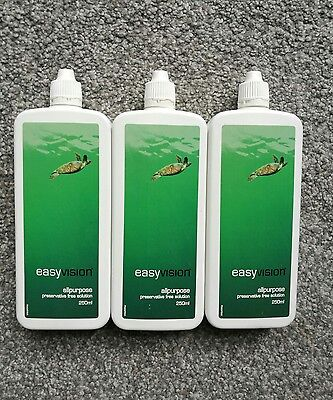 Specsavers Easy Vision Contact Lens Solution X3 New 250ml