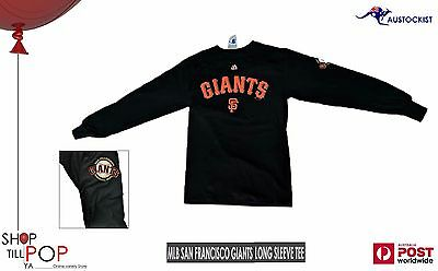 MLB Majestic San Francisco Giant Long Sleeve Graphic Sweater T shirt BNWT