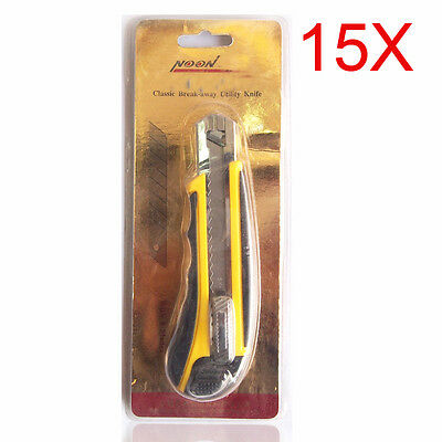 Advanced Gold Packaging S 18 MM Art Blade Wholesale Lots 15 PCS