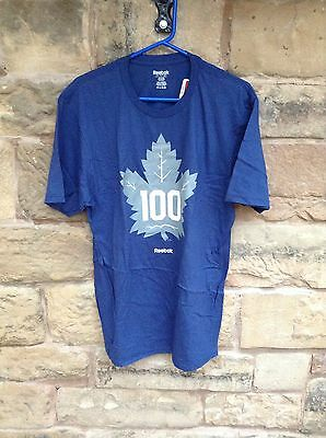 Brand New With Tags NHL Toronto Maple Leafs T-Shirt Blue Large