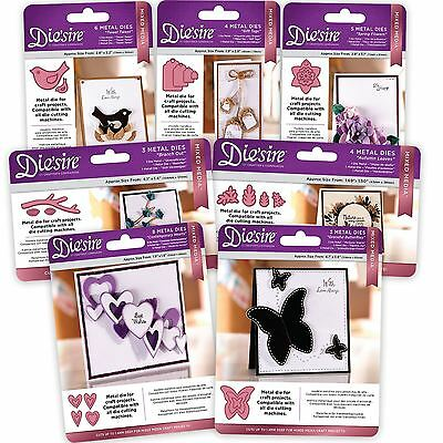 Crafter's Companion Die'sire 'Mixed Media' Card + Fabric Dies- FULL RANGE!