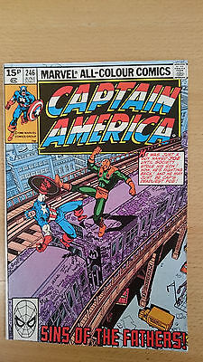 Marvel Comics Captain America  #246 June 1980 VF first print