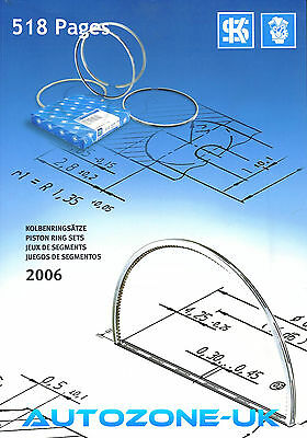 MSI KS PISTON RING SETS CATALOGUE 2006  518 Page A4 Size UNUSED