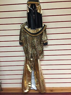 egyptian lady adult size 12 fancy dress costume period