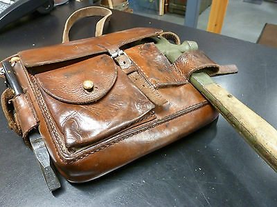 Swedish Army Tool Kit in Leather Bag
