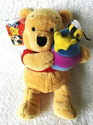 """Bnwt Rare Disney Store Winnie The Pooh  And The Honey Pot Gift 9"""" Long"""