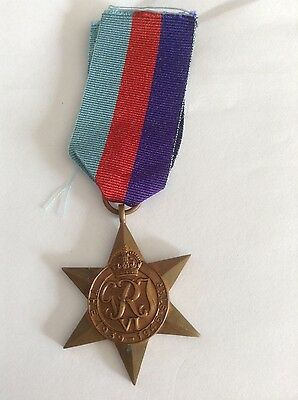 Full Size And Original Medal The 1939 - 1945 Star With Ribbon