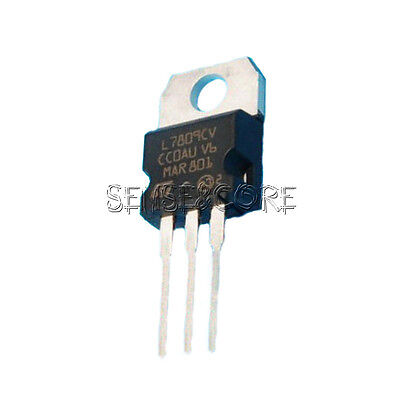 10PCS L7809 LM7809 L7809CV ST TO-220 9V 1.5A Voltage Regulator IC