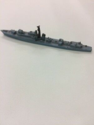 Vintage Tri-ang Minic Waterline Ship M780 HMS Jutland (Royal Navy Destroyer)