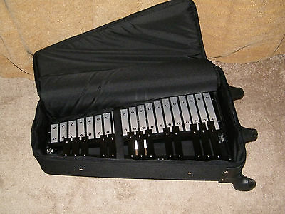 Sound Percussion Labs Bell Set and Rolling Cart Only - Please See Notes