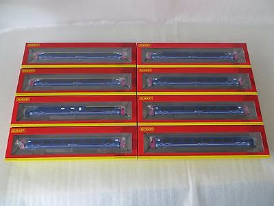Hornby First Great Western MK3 Coaches - Complete FGW HST 8 Coach Set