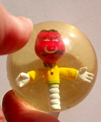 Rare Vintage The Magic Roundabout Zebedee Bouncy Ball FEB SALE!
