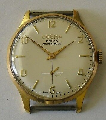 Dogma Prima Funciona Gold Plated Dogma from the 1950s-60s Working