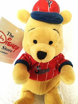"""Bnwt Rare Disney Store Winnie The Pooh Stompers Cap And T Shirt Collectable 8"""""""